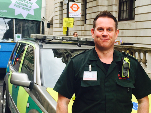 Guy Crofts BSc (Hons), PA (Anaes), PGDip (Anaes), MCPara - Director